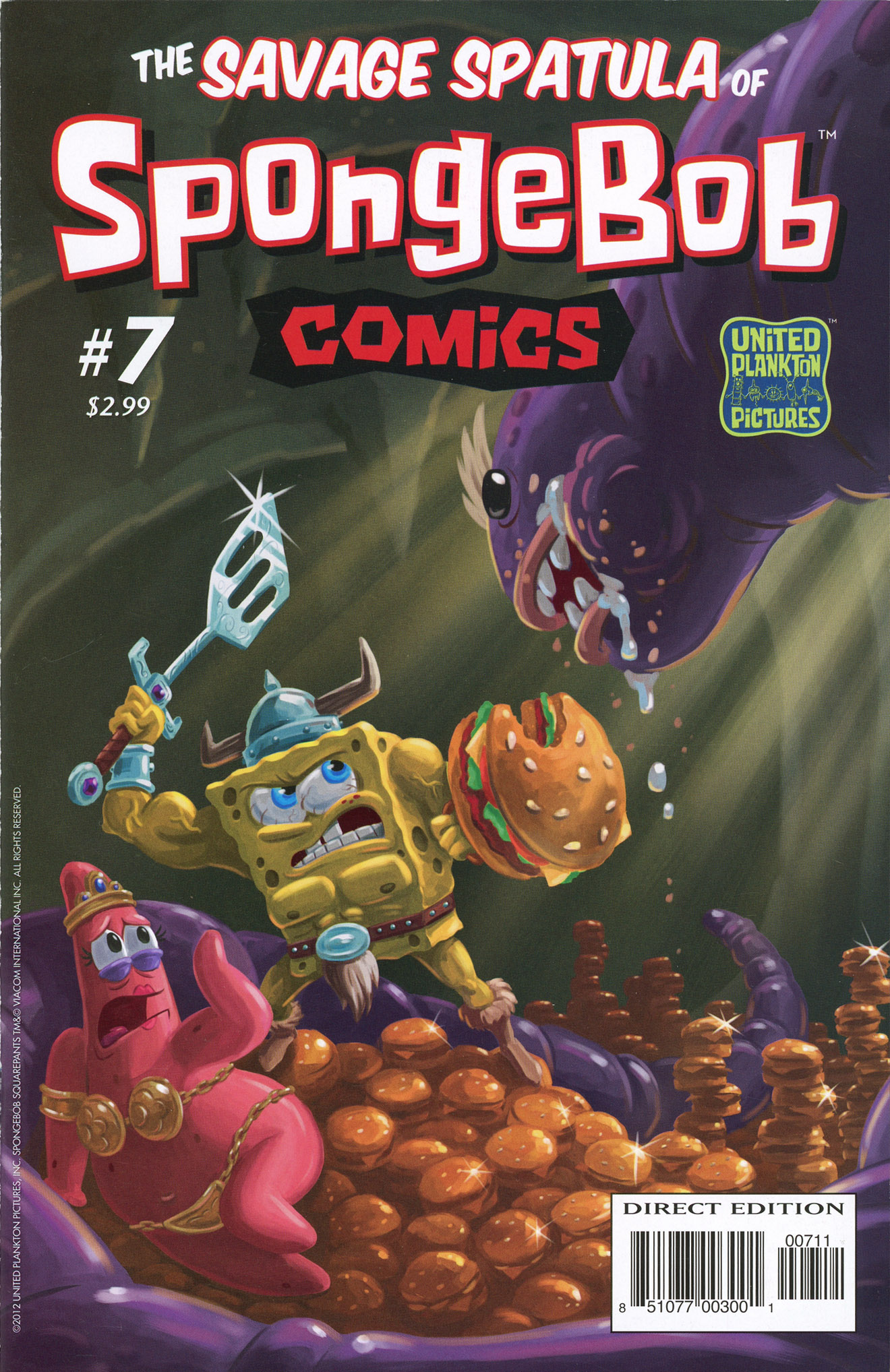 Spongebuddy Mania Spongebob Comics 7 The Savage