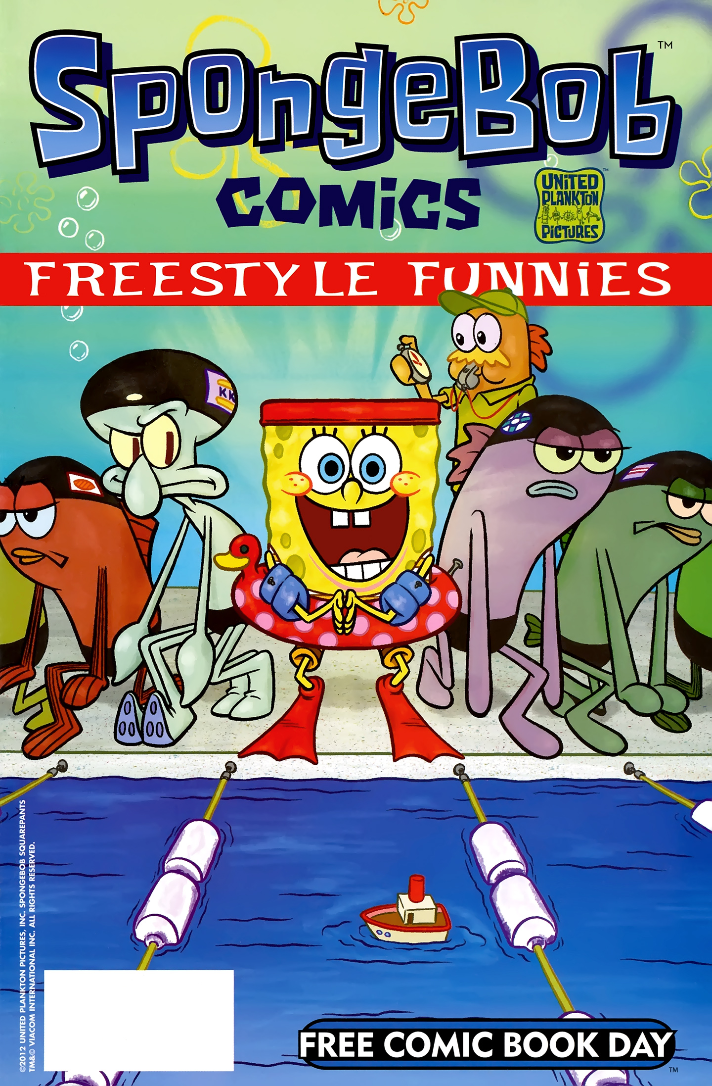 Free Comic Book Day 2012: Freestyle Funnies