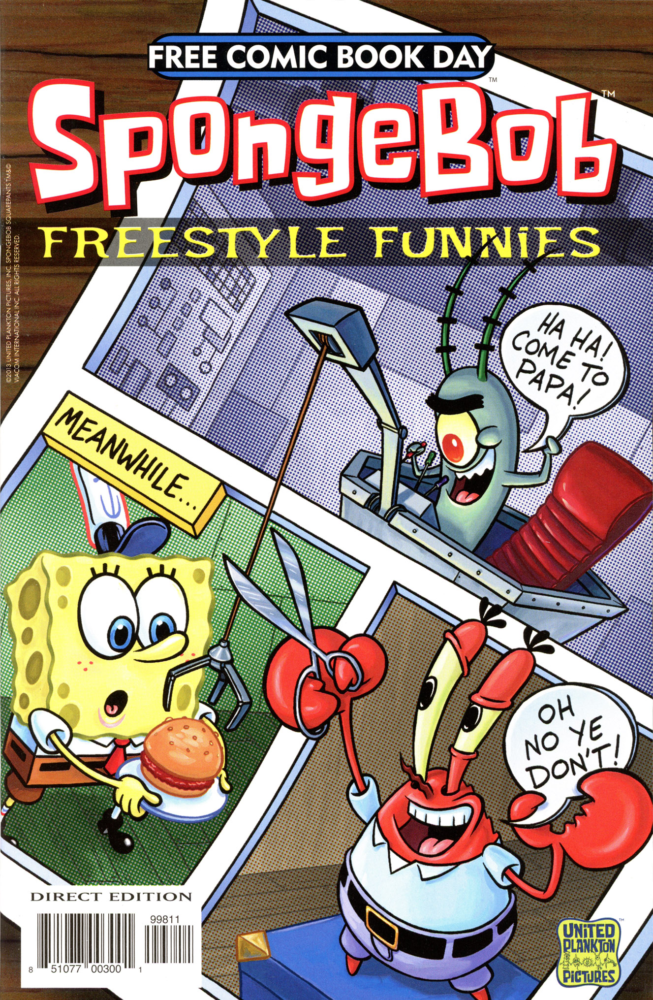 Free Comic Book Day 2013: Freestyle Funnies