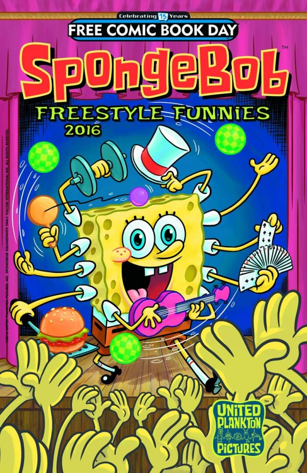 Free Comic Book Day 2016: Freestyle Funnies