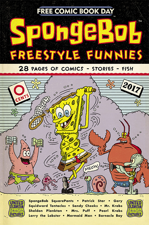 Free Comic Book Day 2017: Freestyle Funnies