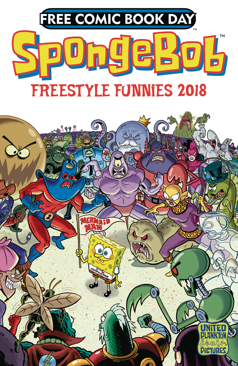 Free Comic Book Day 2018: Freestyle Funnies