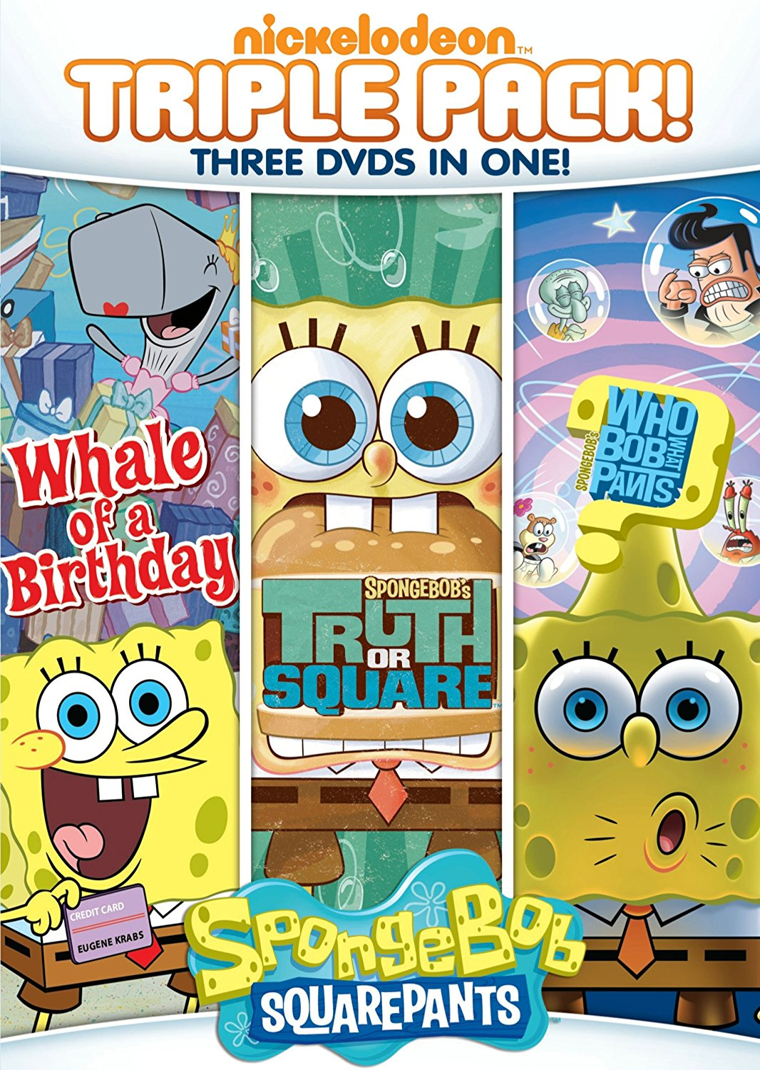 SpongeBuddy Mania - SpongeBob DVD and VHS