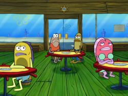 SpongeBuddy Mania - SpongeBob Transcripts - Oral Report