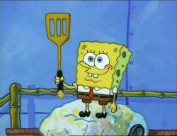 spongebuddy mania spongebob transcripts neptune s spatula